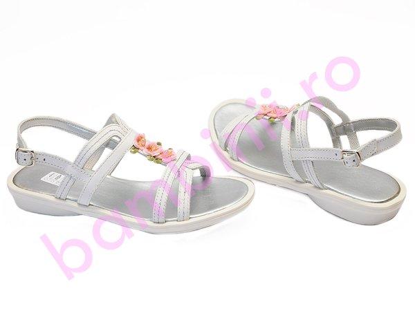 Sandale copii melania 6130 alb