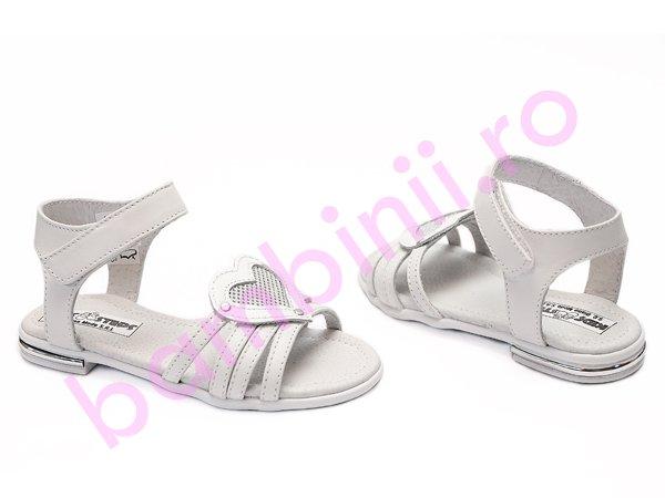 Sandale fete 1316 alb