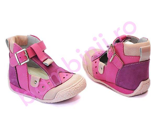 Sandalute copii hokide 305 roz-mov