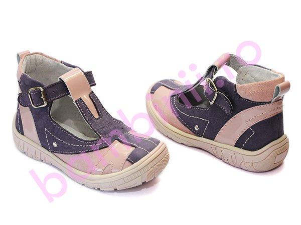 Sandale copii hokide 306 mov-roz