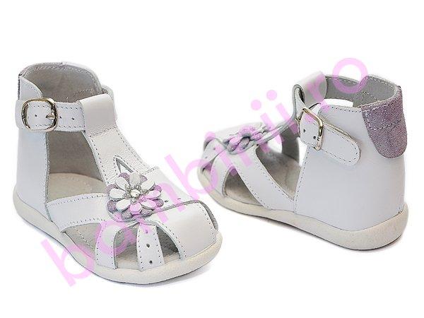 Sandale copii hokide 308 alb