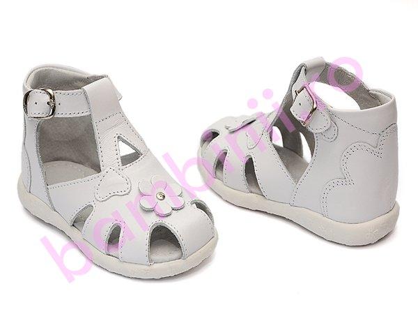 Sandale copii hokide 77 alb