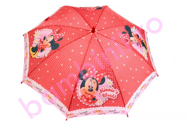 Umbrela fete Minnie's world roz