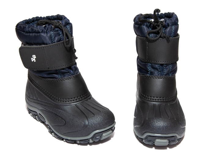 Apreschiuri copii pj shoes Fun blu negru 21-37