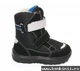 Apreskiuri copii impermeabile gt-tex 93312 negru albastru 20-25