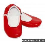 Balerini dans copii piele 25301 rosu 23-38
