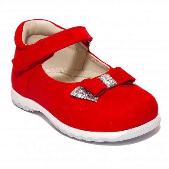 Pantofi balerini fete Avus 803 bej 19-26