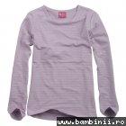 Bluze copii cu maneca lunga 9617 mov lila 98cm-128cm