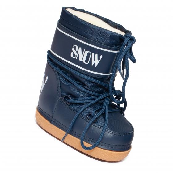 Boots copii de zapada snow 2531 blu 23-40