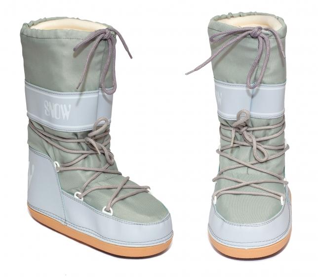 Boots copii de zapada snow 2531 gri 24-40