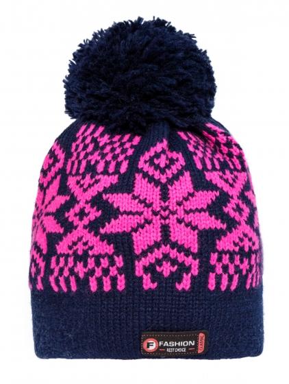 Cacila fete de iarna 854 blu roz 48-54