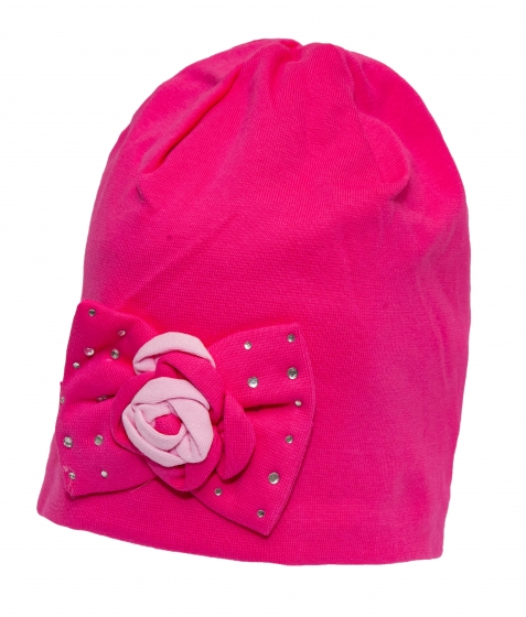 Caciula fete 9627 roz 1-3ani