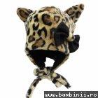 Caciula fetite Piticot pisica C467 leopard 46-48cm