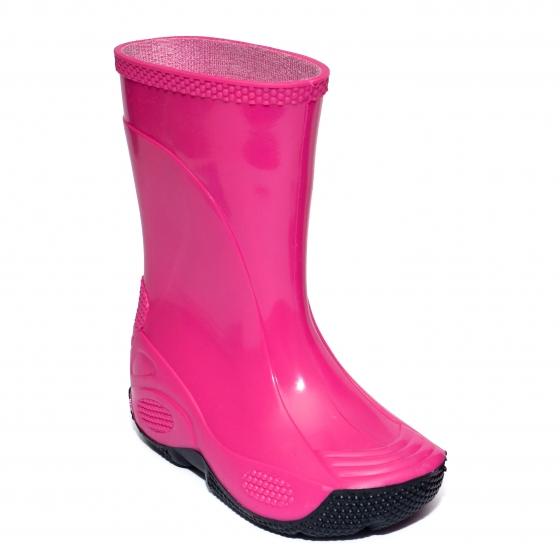 Cizme fete cauciuc de ploaie 2 fuxia 20-35
