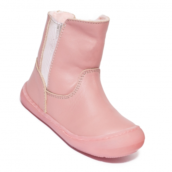 Cizmulite fete flexibilie vatuite Pj Shoes Leyla negru 20-26
