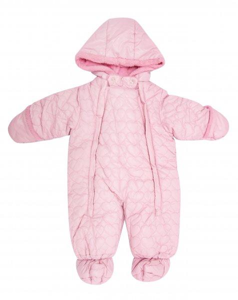 Combinezone copii de iarna 3551 roz 3luni-12luni