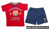 Pijamale baieti Barcelona 1978 rosu 98-134 cm