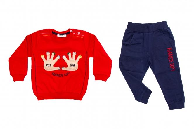 Compleuri copii 1715 rosu blu 86-110cm