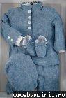 Costum baieti de botez 5269 jeans