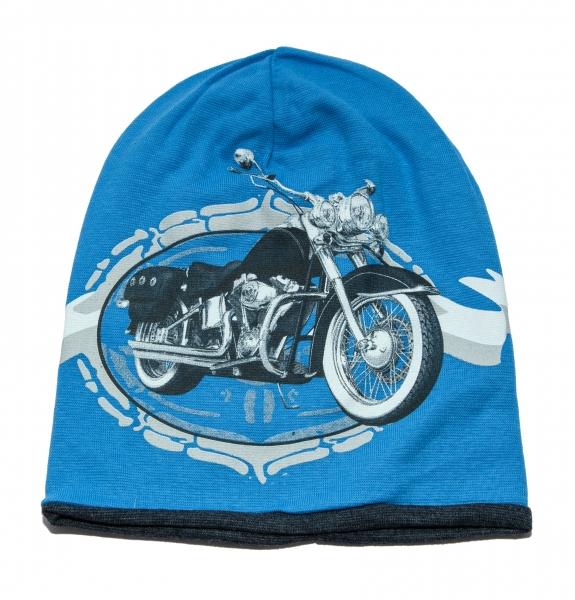 Fesuri baieti motor 3213 gri blue 3-6ani