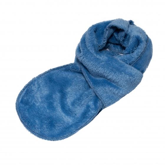 Fular copii mic pitic F5 albastru blue 1-7ani