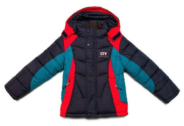 Geci baieti de iarna 1220 blu albatru rosu 86-128cm