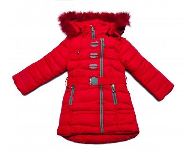 Geci fete de iarna 2124 blu roz 98-134cm