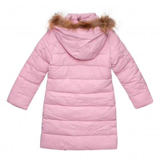 Geci fete lungi groase de iarna 1157 roz 128-164cm