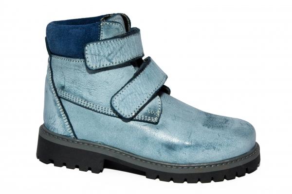 Ghete copii blana pj shoes Luca albastru 27-36