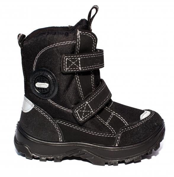 Ghete copii impermeabile cu blana GTX 95312 negru 26-37