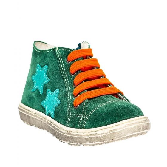 Ghete copii pj shoes Rocky verde port 20-26