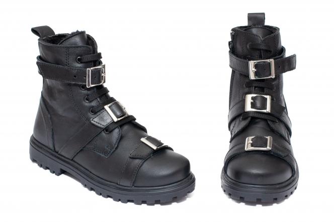 Ghete fete blana pj shoes Alice 1 negru 31-38