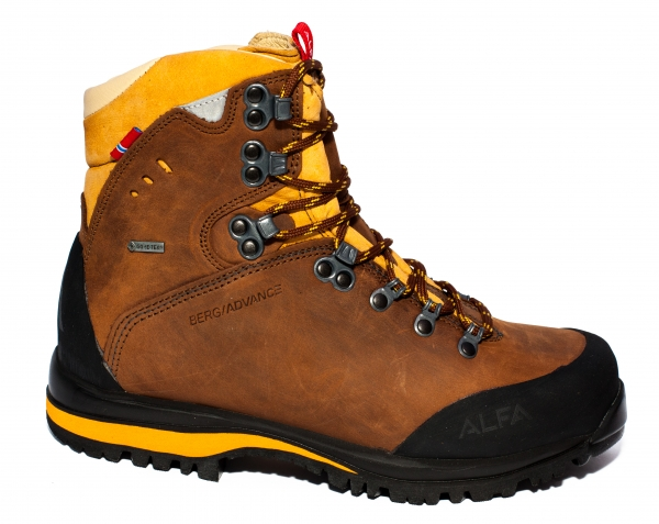 Ghete gore-tex Alfa berg advance gtx w brown 36-45