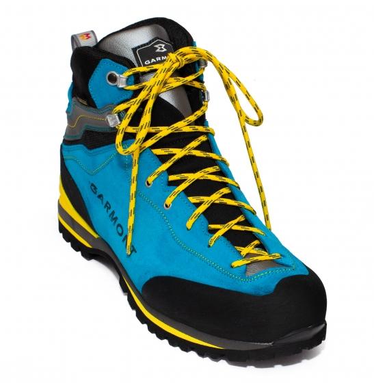 Ghete gore-tex Garmont Ascent GTX albastru galben 39-48