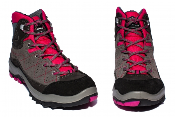 Ghete gore-tex copii Garmont Escape tour GTX gri roz 26-39