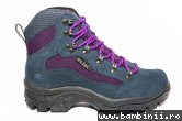 Ghete goretex copii waterproof 11260 blu mov 36-40