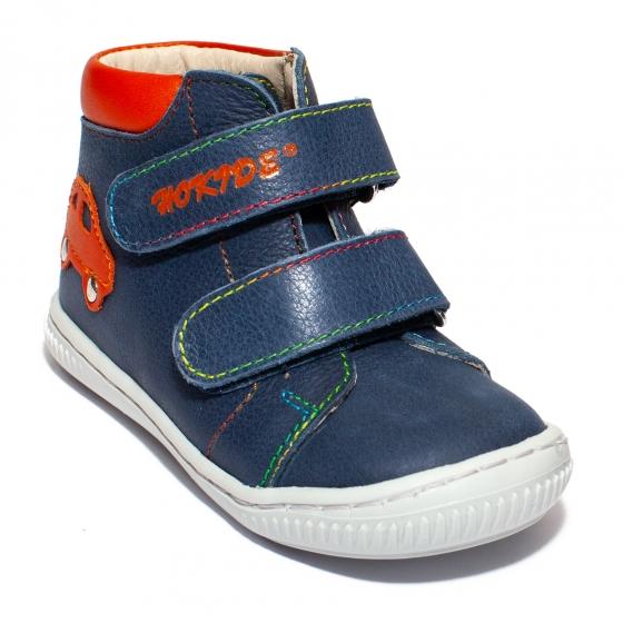 Ghetute baieti hokide flexibile 417 blu portocaliu 18-25