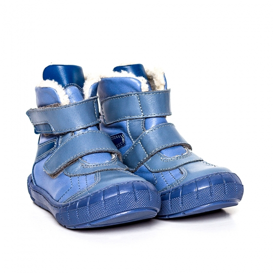 Ghetute baieti imblanite pj shoes Kiro albastru blu 20-29