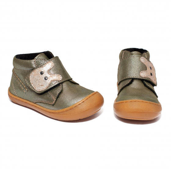 Ghetute flexibile copii vatuite pj shoes Teddy vernil 18-26