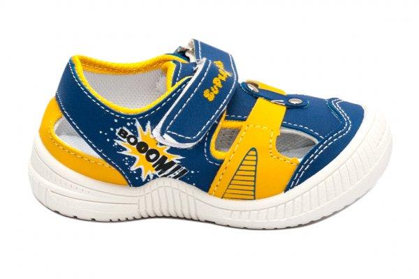 Incaltaminte baieti 968 albastru galben 20-25