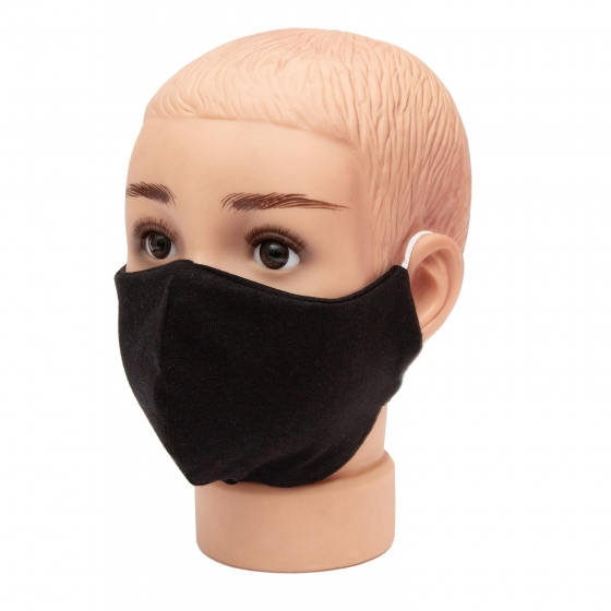 Masca dama A27 negru