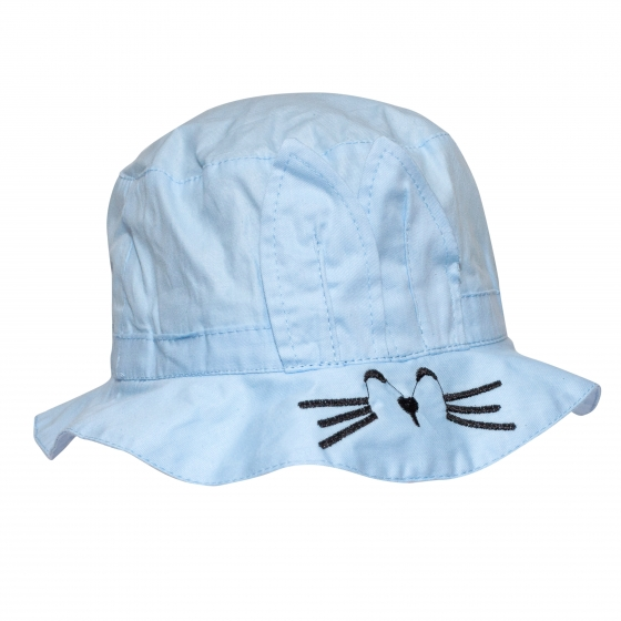 Palarie copii pisica 3223 alb 1an-4ani