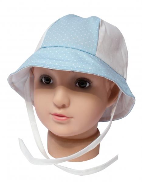Palarie copii pl33 alb blue 40-44