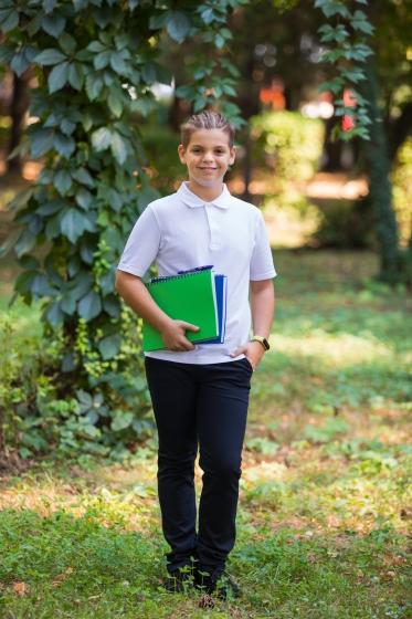 Pantaloni baieti de scoala Mirdes blumarin 4-15ani