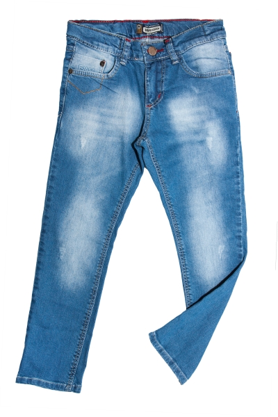 Pantaloni blugi baieti 550 albastru 116-152cm