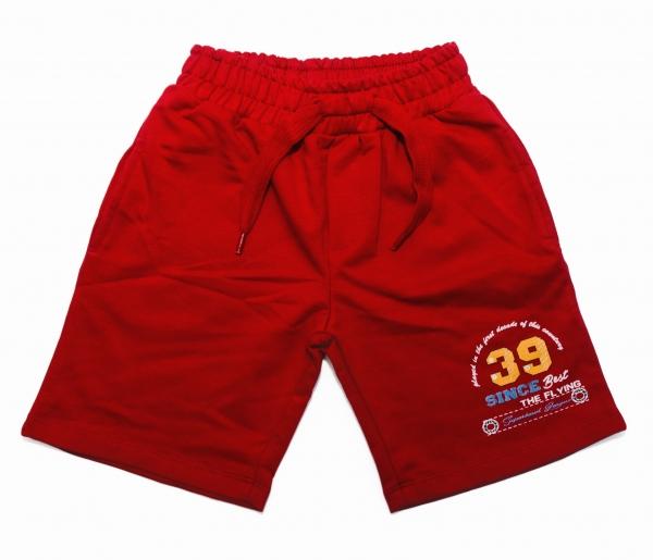 Pantaloni scurti baieti 758 rosu 92-116cm