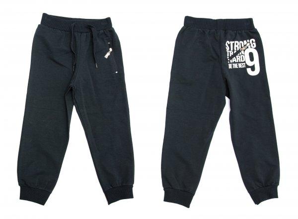 Pantaloni trening baieti EH 9874 blumarin 92-152cm