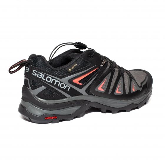 Pantofi Impermeabili gore-tex Dama Salomon X Ultra 3 gtx negru r 36-41