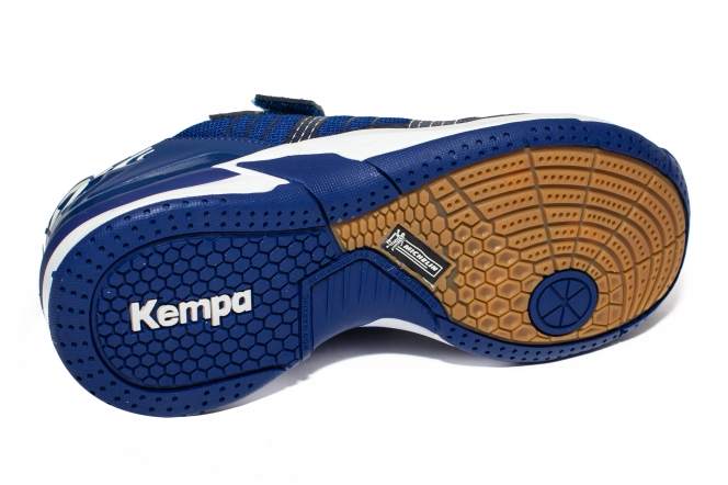 Pantofi Kempa Attack Contender Junior velcro 2019 albastru 28-33