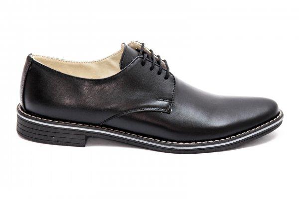 Pantofi baieti scoala 9 negru box 36-46